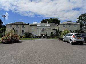 Haldon House - Image: North Pavillions Haldon House Devon