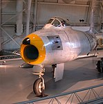 North American F-86A Sabrejet, Smithsonian NASM, Washington DC.jpg