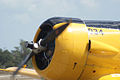 North American SNJ-6 Texan Navy and Engine Startup TICO 13March2010 (14412920409).jpg