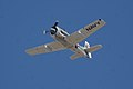North American T-28C Trojan Sherry Berry Second Pass 01 TICO 13March2010 (14412868480).jpg