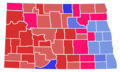 North Dakota Senate Election Results by County, 2018.png