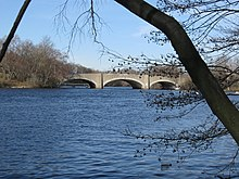 The North Beacon Street Bridge in April 2009