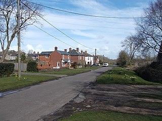 Norton Green village in United Kingdom