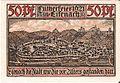 Notgeld Eisenach - Luther auf Wartburg 1.jpg