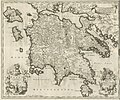 Nova et accurata Moreae olim Peloponnesus dictae delineatio - Dapper Olfert - 1688.jpg