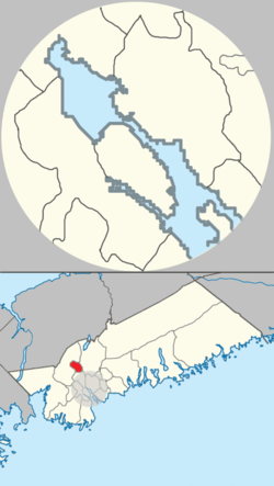 Map of Sackville planning area in Halifax, Nova Scotia