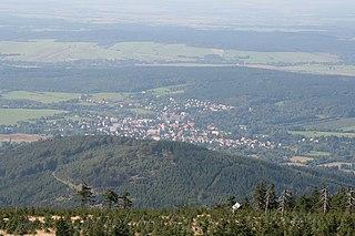 Nové Město pod Smrkem Town in Liberec, Czech Republic