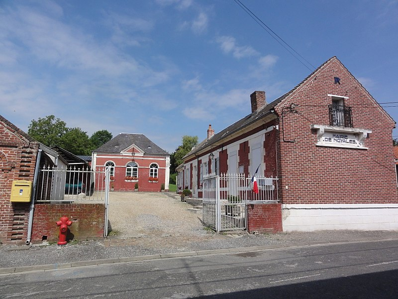 Noyales (Aisne) mairie
