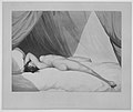 Nude Reclining on Curtained Bed -Emma Hamilton (?)- MET MM92540.jpg
