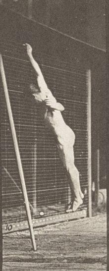 Naked Pole Vaulting Man 7