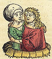 Nuremberg chronicles f 245r 1 (duo amantes).jpg