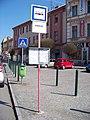 Nymburk, náměstí Přemyslovců, autobusová zastávka.jpg