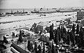 OLD MOSLEM CEMETERY AND HAIFA PORT. בית הקברות המוסלמי הישן ליד נמל חיפה.D420-063.jpg