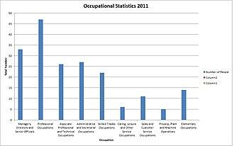 Hoton - Occupational Statistics 2011