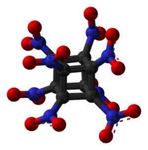 Octanitrocubane - Image: Octanitrocubane 3D balls