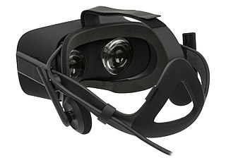 Virtual reality headset head-mounted device aimed to provide an immersive virtual reality experience