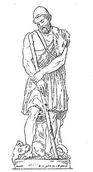 Argos (dog) - Odysseus and Argos