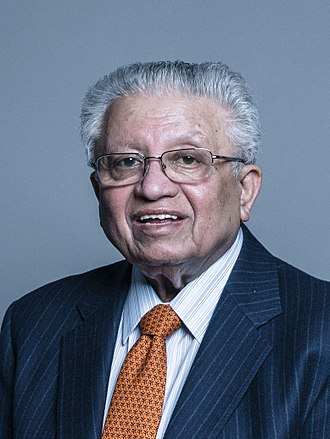 Kumar Bhattacharyya, Baron Bhattacharyya - Image: Official portrait of Lord Bhattacharyya crop 2