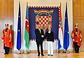 Official welcome ceremony was held for President Ilham Aliyev in Zagreb 18.jpg