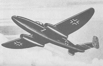 Heinkel He 280 - Heinkel He-280 V2.