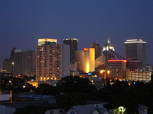Oklahoma City Skyline from St. Anthonys Heart Hospital.jpg