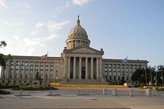 Oklahoma State Capitol - Image: Oklahoma State Capitol Facade