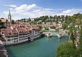 Old City and the Aare river - Bern, Switzerland - panoramio.jpg