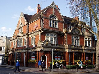 Old Packhorse pub in Chiswick, London