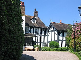 Grade I listed non-ecclesiastical buildings in Cheshire - Gawsworth Old Rectory