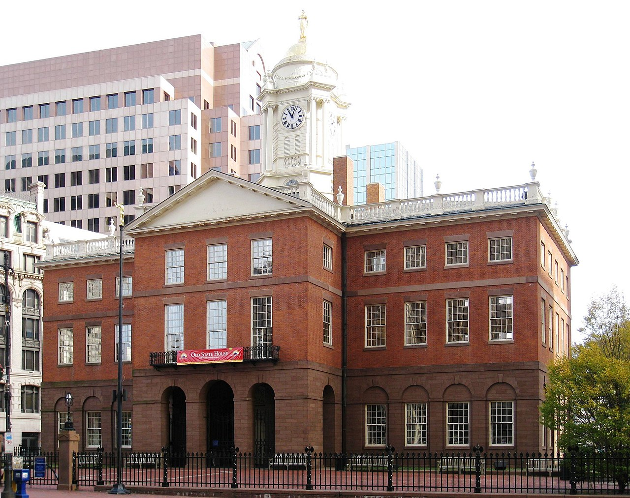 File Old State House Hartford Ct Rear Facade Jpg