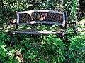 Old bench at High Beach Cricket Club 1.jpg