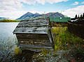 Old building, Carcross, Yukon (10752671944).jpg