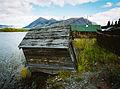Old building, Carcross, Yukon (10752671944).jpg