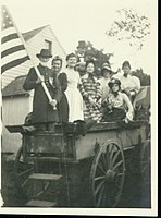 Old fashioned singing school at Paris Hill Fair, with Sara Huff in charge. No - (3855851743).jpg
