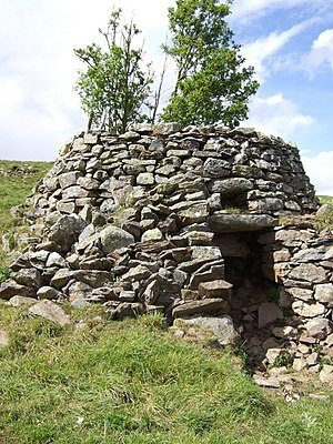 Aberdeenshire - An old lime kiln at Badenyon