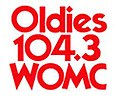 Oldies 104.3 WOMC logo.jpg