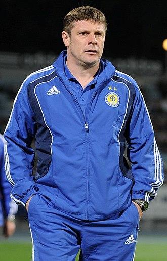 Oleh Luzhny - Luzhny in his assistant role at Dynamo Kyiv