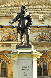Oliver Cromwell in popular culture
