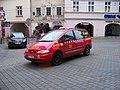 Olomouc, Ostružnická a Denisova, taxi.jpg