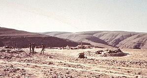 Northern Frontier Regiment (Oman) - A Dhofar Brigade defensive position in 1972