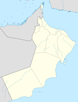 Salalah is located in Oman