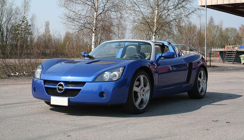 opel speedster. as the Opel Speedster (and