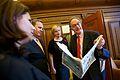 Opening handelsdag Amsterdamse Beurs op de Wereldalfabetiseringsdag.jpg