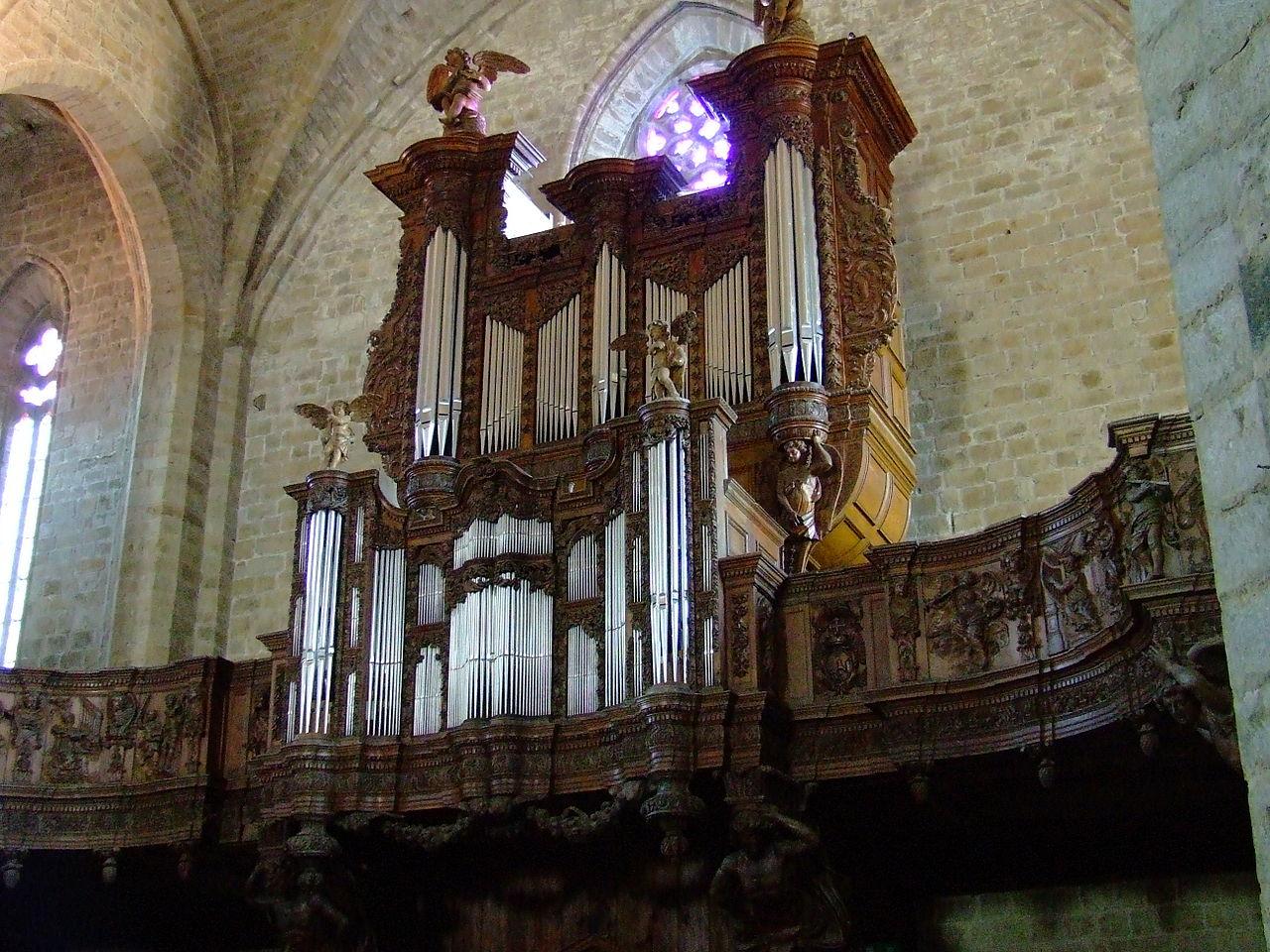 file orgue la chaise dieu jpg wikimedia commons