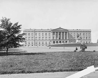 1849 in Norway - The official inauguration of the Norwegian Royal Palace