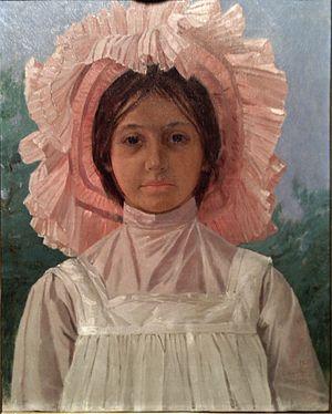 Pera Museum - Image: Osman Hamdi Bey Girl with Pink Cap