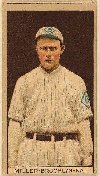 Otto Miller - Image: Otto Miller (1912 baseball card)