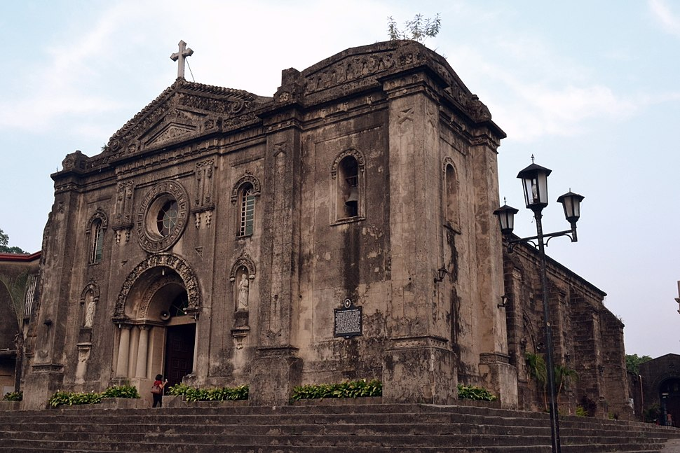 Our Lady of Grace Church in Makati. View