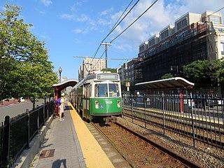 Boston University Central station MBTA subway station