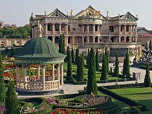 Overdone house in Yerevan